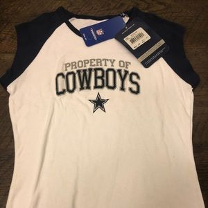 Dallas Cowboys cropped tee